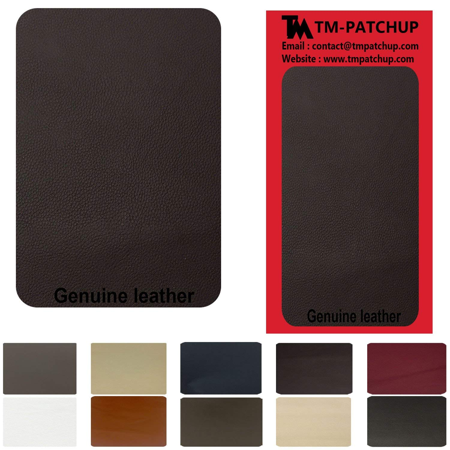 Iron On Leather Patch For Couch