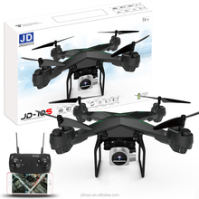FJDTOYS Updated Wifi FPV RC Quadcopter JD-10S 2.4G G-sensor Altitude Hold Foldable Selfie APP Control RC Drones With HD Camera