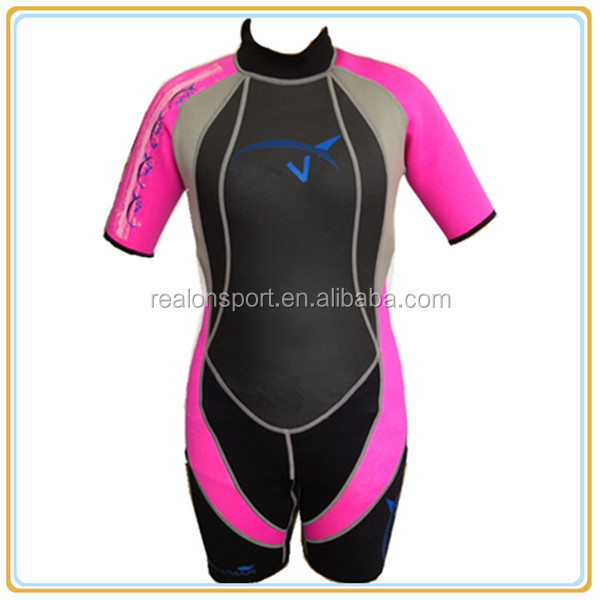 Custom Plain Wetsuits For Women Plus Size