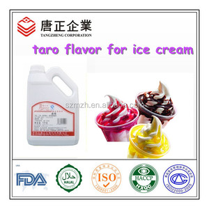 Concentrate Sweet Taro Flavor For Ice Cream Flavoring