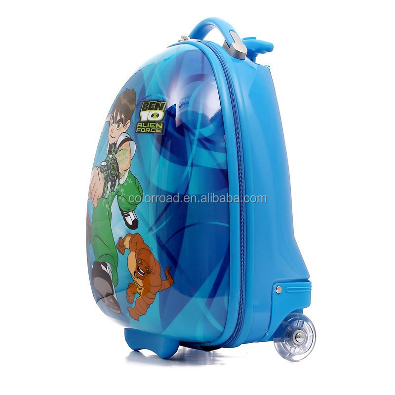 2017 smart kids school trolley bags suitcase in high quality trollry for children trollry school bags