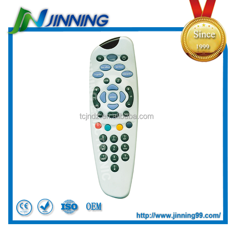 IR Durable Rubber Keypads ABS Case RoHS CESky Plus Remote Control sky hd remote contro Sky Remote Control
