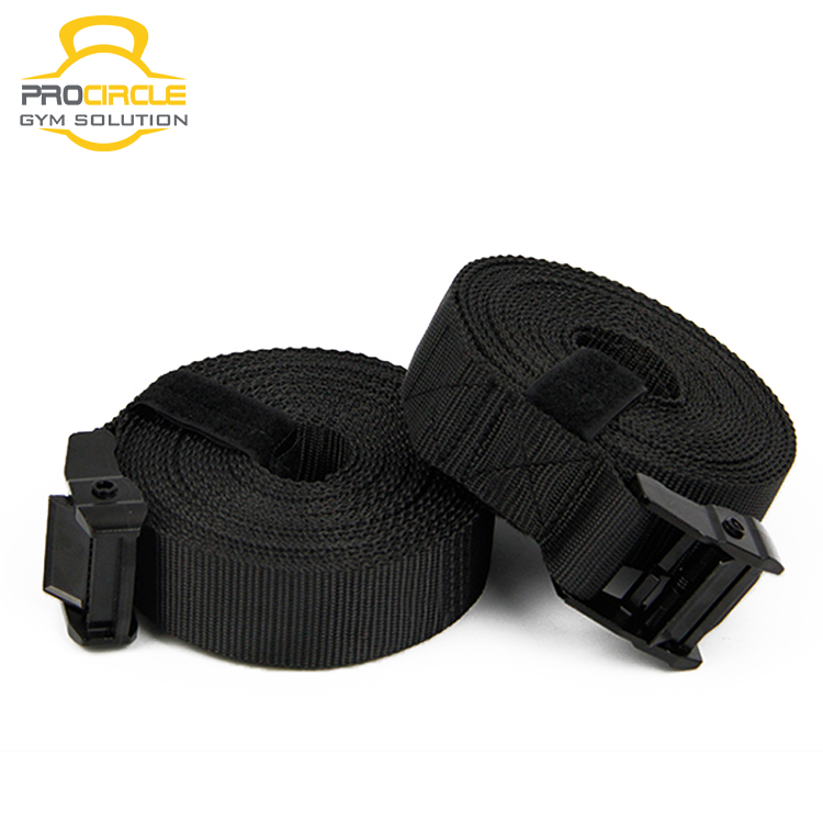 ProCircle ABS Gymnastic Rings with Webbing Strap