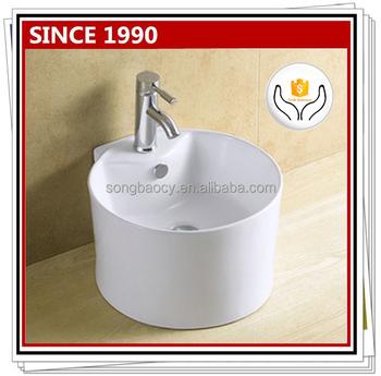 8053 Silicone Collapsible Wash Basin Above Counter Art Basin