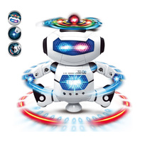 hot toys for christmas 2018 Toy 360 degree stunt spin robot dancing robot toy