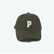 Promotional Letter P Baseball Low Crown Polo Cap