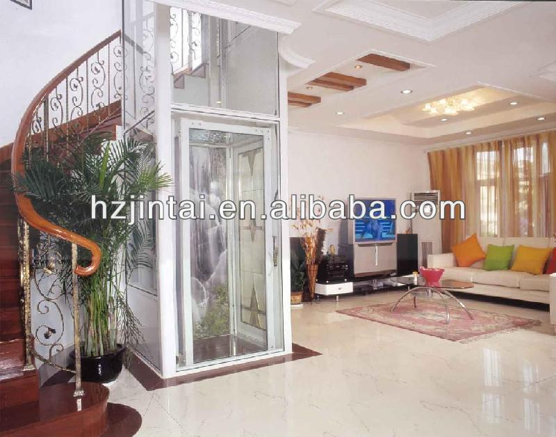 Elegant Luxury Indoor Home Elevator customed Villa Lift Elevator