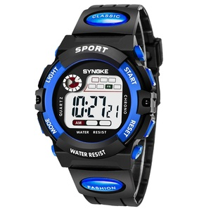 SYNOKE your logo custom watches Kids Children multiple plastic strap watch