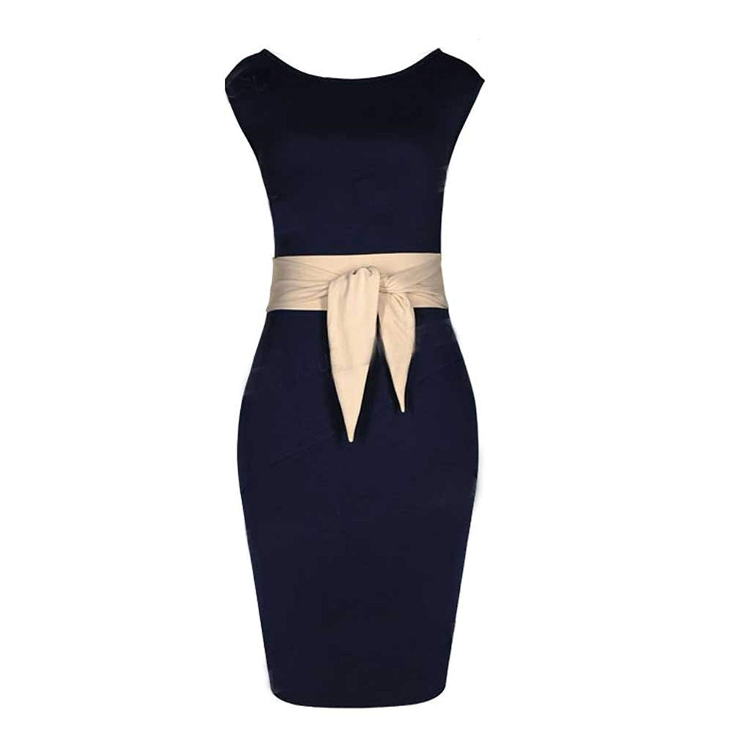 1462e7284f4b Get Quotations · Blue Mini Business Evening Party Work Wear Bkyo-013