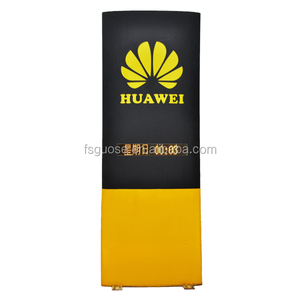 "outdoor led light display advertising board acrylic sheet poster frame ""HUAWEI""display show light box"
