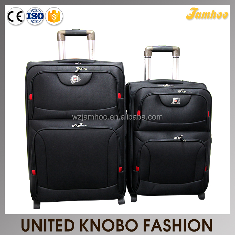 1680D EVA trolley case set soft luggage set swiss polo luggage