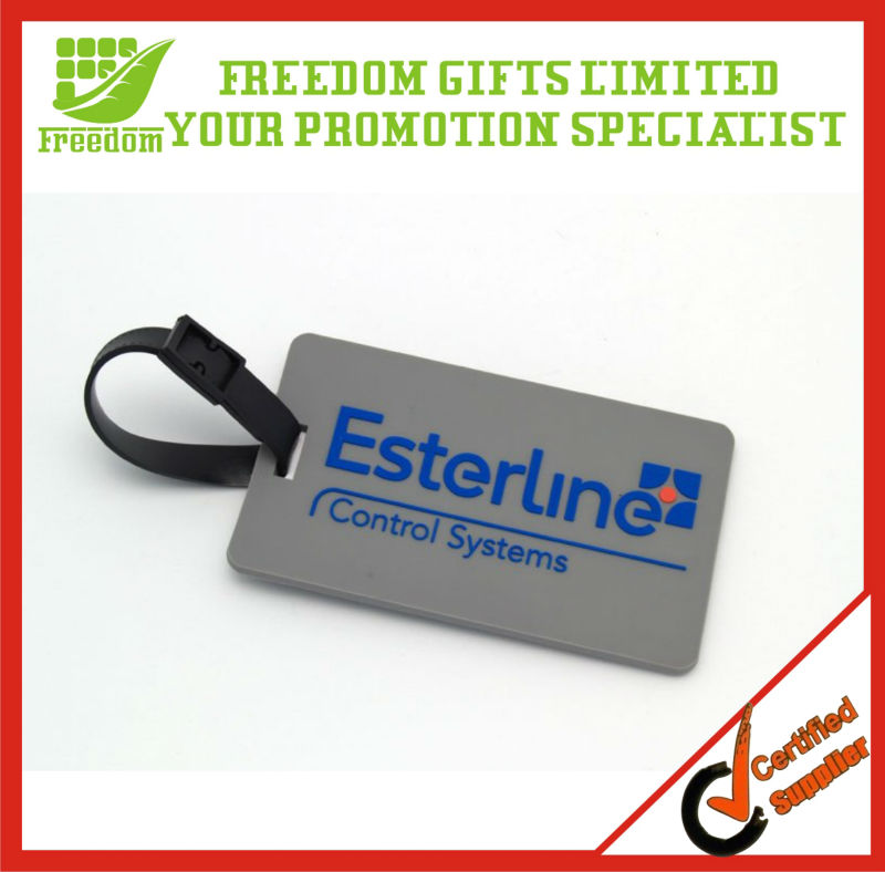 Promotional 3D Soft Custom PVC Luggage Tag
