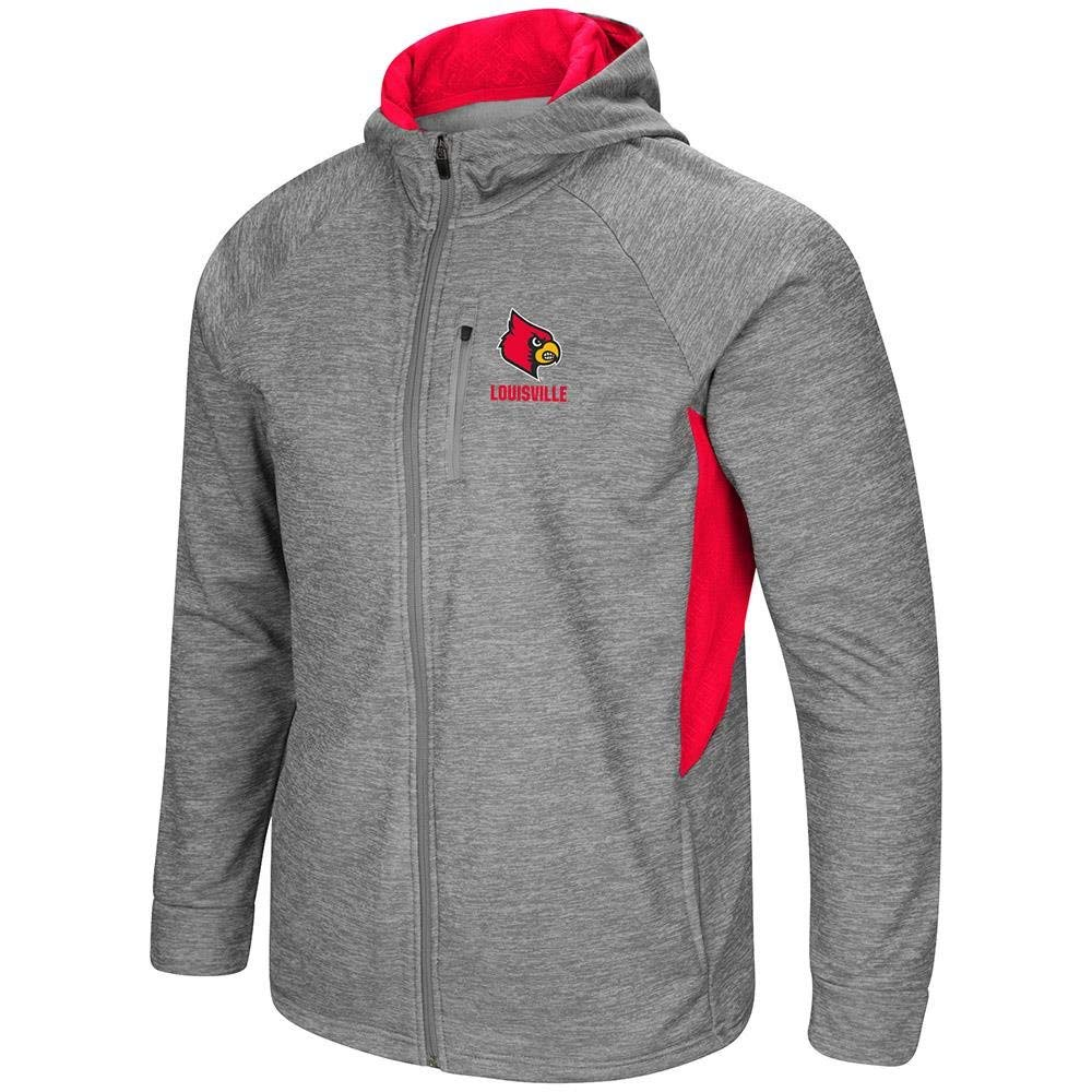 NCAA Louisville Cardinals Kashwere U 2-Tone Motorcycle Jacket