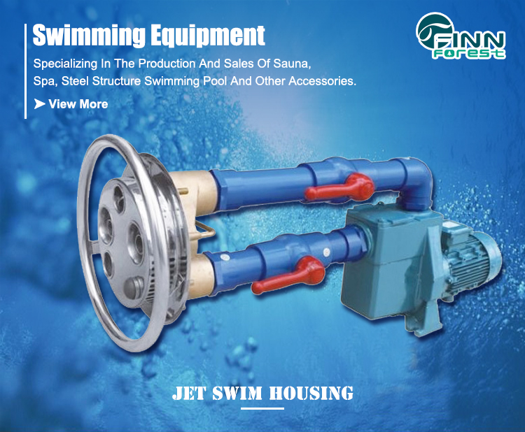 Aquatic Exercise Swimming Pool Swim Jet System Counterflow Jet Swim