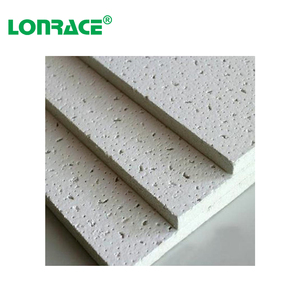 fireproof polystyrene decorate mineral fiber board