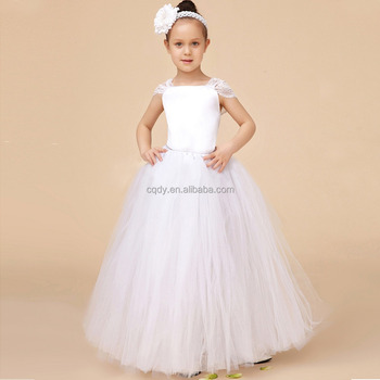 b687695cb Lovely Lace Princess Tutu Dress Baby Girls Party Dresses Flower ...