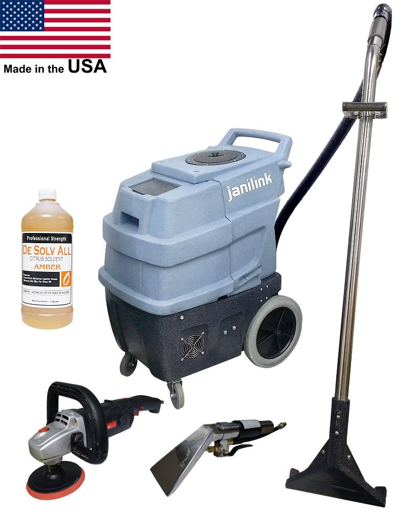 Get Quotations · Commercial Grade 500 PSI carpet extractor with 2 water heaters, three 2 stage vacuum motors