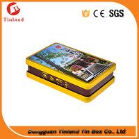 wholesale custom metal tin box cigarette packaging