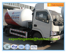 good quality diesel 4*2 CLW brand 2.3 metric tons lpg gas tank truck