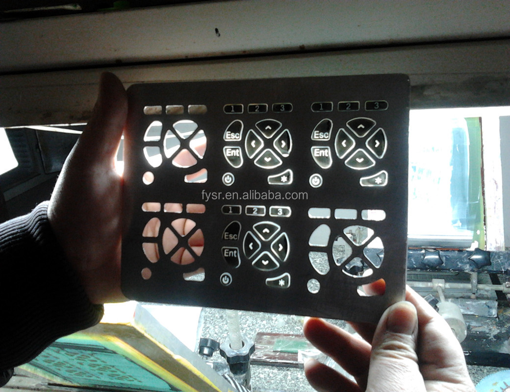 Custom car key buttons silicone keypad for car remote