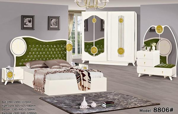 High Quality Master Royal Bedroom Furniture / Modern Bedroom Furniture