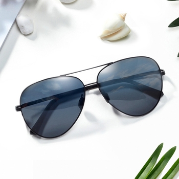 2017 sun glasses sunglasses Original Xiaomi TS 304H Stainless Steel Gravity  Rear Frame Nylon Polarized Lens 8902f6bd68b