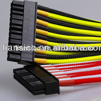 individual 24pin to 24 pin atx extension cable