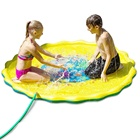 LC Hot Sale Wholesale Outdoor Sprinklers Baby Water Splash Play Mat