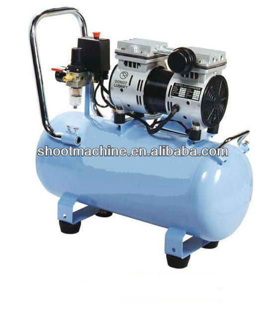 Oil Free Series Air Compressor SH1824L with Compressor head model JBW800 and Voltage/Frequency 220V/50HZ