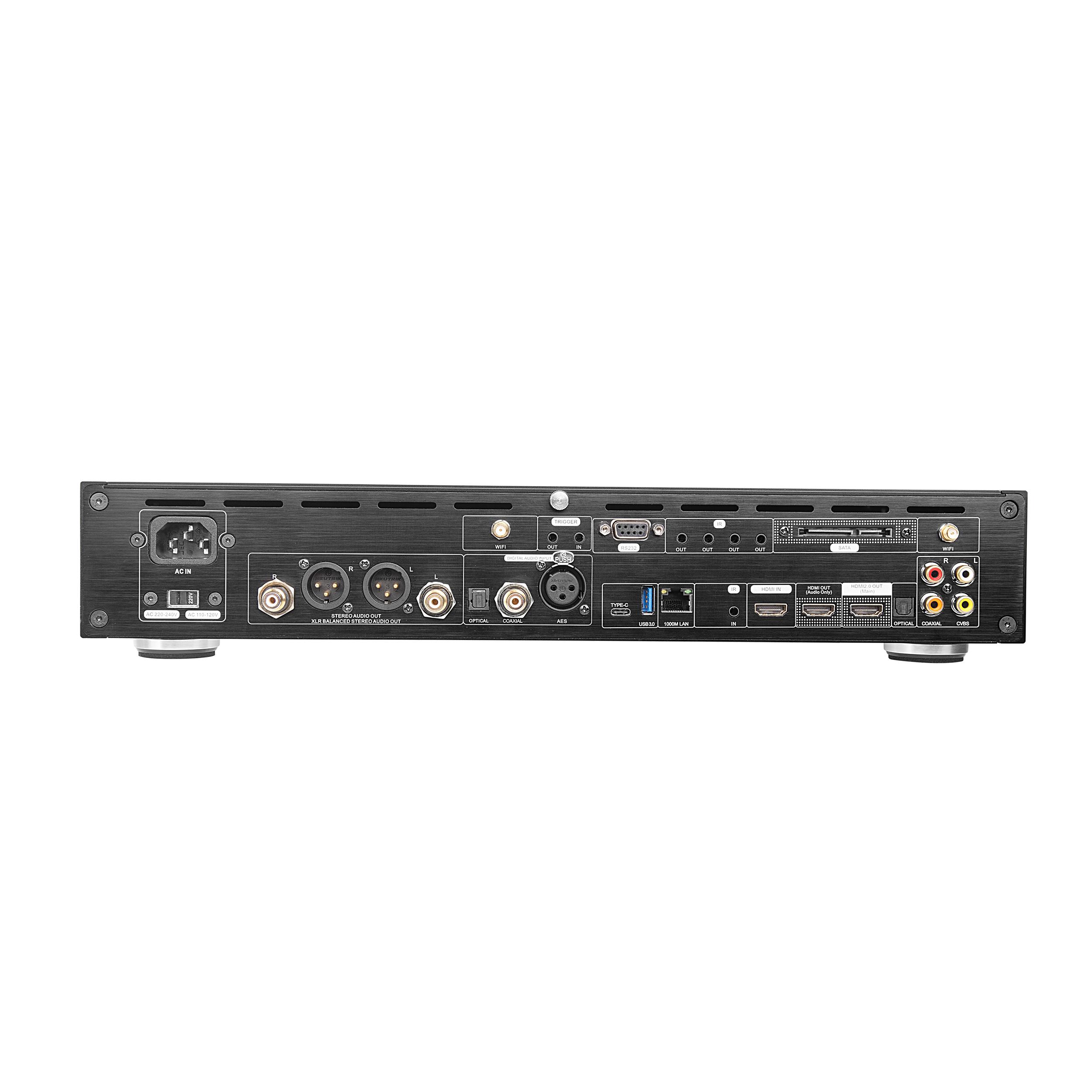 R11 3D 4K Blu-Ray Ultra Hd Audiophile Media Player+Dsd Hifi Music Player+Dac Decoder+Streaming Server+Nas Server