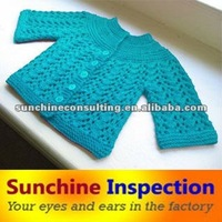 Knit garments Pre-Shipment Inspection - QC Report -Inspection Certificate