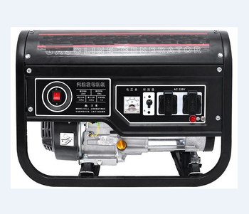 Top sale three phase 220v 380v 3.5kva portable 3/5/6/8Kw micro 6.5hp gasoline power generator silent 8500 for home use