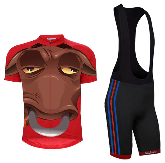 Get Quotations · 2014 MERIDA MULTIVAN Team Men Short Sleeve cycling jersey Bib  Shorts Skinsuit set.Cycle fc71640f9
