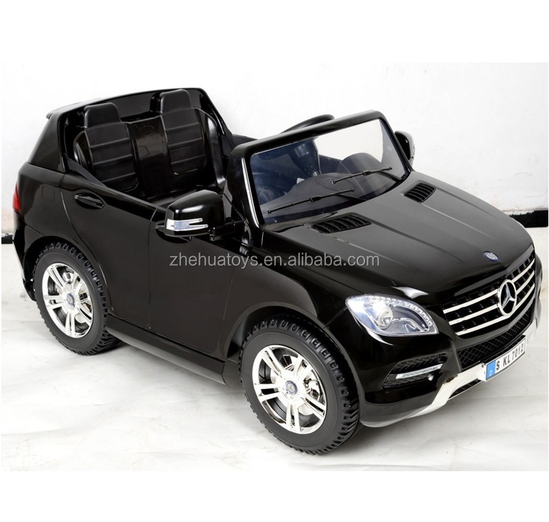 Newest 12volt licensed ride on car mercedes benz ml350 toy for Mercedes benz ml 350 for sale