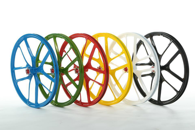 2015 New Design Cheap Magnesium Alloy Bike Wheels Made By China