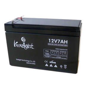 12v 7ah Nominal Capacity rechargeable battery for alarm system and 1.65kg Weight lead acid battery
