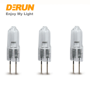 G4 JC Halogen Lamp 10w 130lm Clear Quartz Glass Capsule Lamp with CE ROHS ERP , HAL-JC