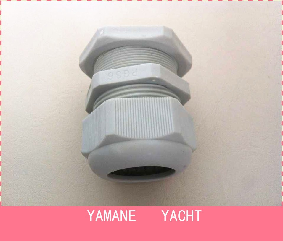 IP68 waterproof connection, nylon plastic cable glands conection