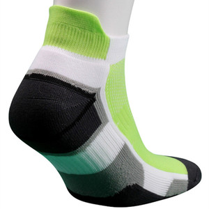 Ankle Style Combed Cotton Nylon Sport Socks, Custom Cushion Bottom Men Cotton Colored Ankle Socks