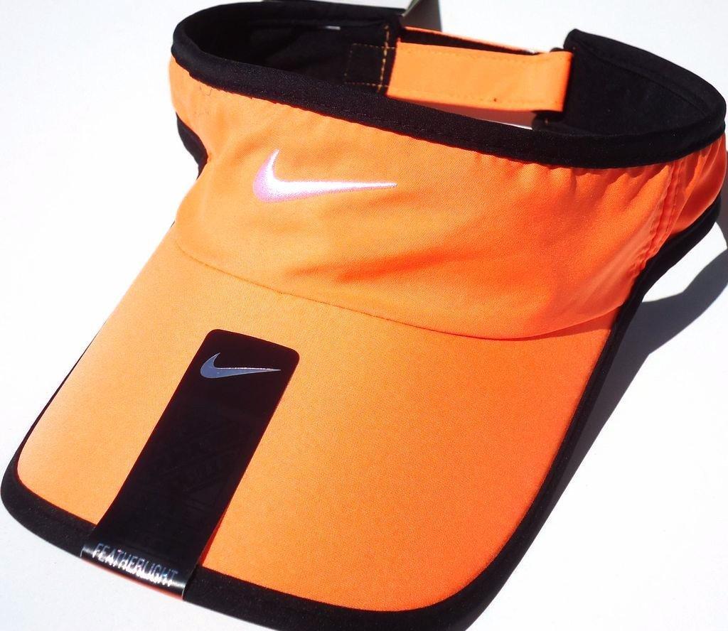 8c1ebb44 Nike Adult Unisex DRI-FIT Featherlight Tennis Visor; 209418-810, Light  Orange