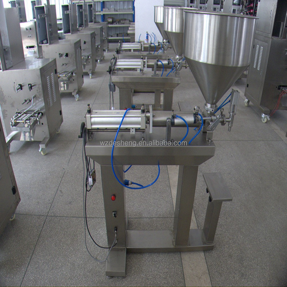 DS-C-1000 Vertical semi-automatic Pneumatic Liquid Filling machine bottling machine for water, oil ,juice shampoo