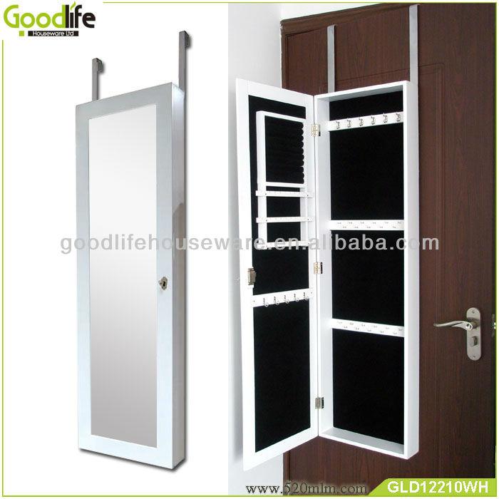 Chino blanco encuadre de cuerpo entero espejos de pared for Espejos decorativos blancos