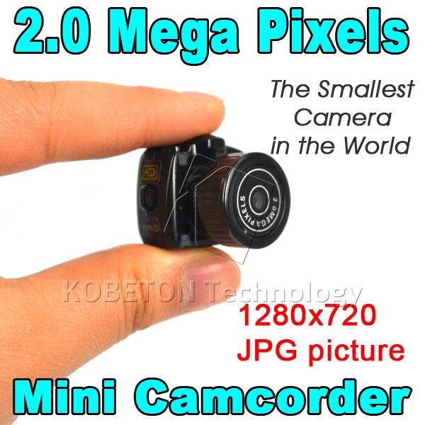 מיני מצלמות וידאו