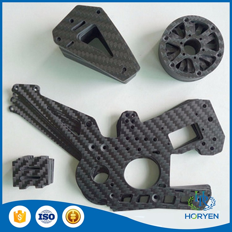 2017 hot sale custom 6mm carbon fiber cutting parts With Factory Wholesale Price