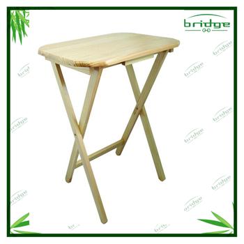 Bamboo Folding Table Breakfast Study Table