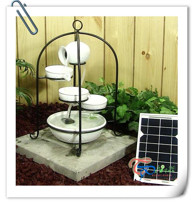 Птичий фонтан Смола Солнечный фонтан для украшения сада