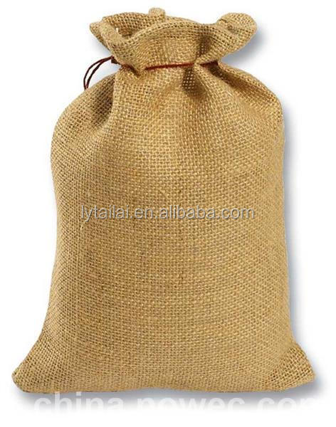 Pp Woven Big Bag Linen Jute Bag For Red Bean Coffee Beans