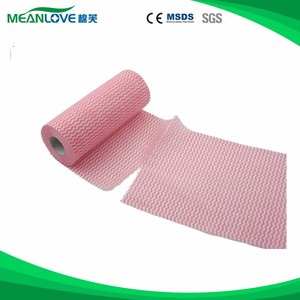 Good wiping effect viscose rayon cleaning cloth for house