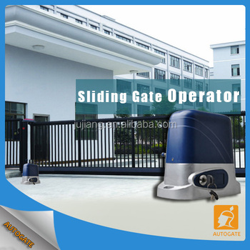 Heavy Duty Smart Sliding Gate Designs For Home With Long Lasting