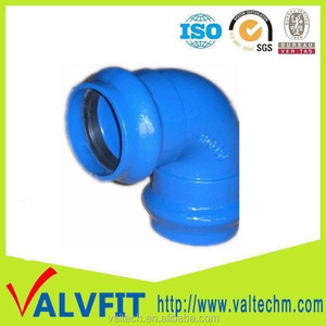 Ductile Iron PVC Pipe Double Socket Bend